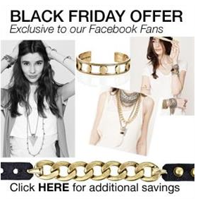 Symmetry Black Friday Facebook Offer