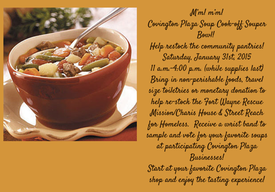 Covington Plaza Souper Bowl
