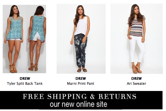 The Pieces You Need for Spring & Free Shipping on Our New Online Site