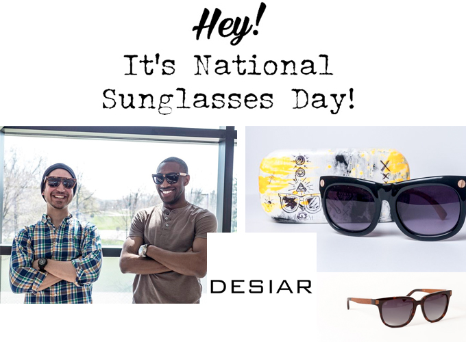 National Sunglasses Day at Symmetry