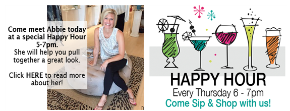 he Fall Trend We're Feeling + Meet Abbie at Happy Hour Tonight (Open Late!)