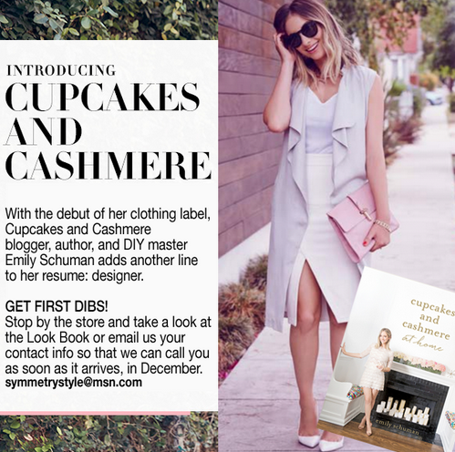 Exclusive: Cupcakes and Cashmere Clothing Line Coming to Symmetry